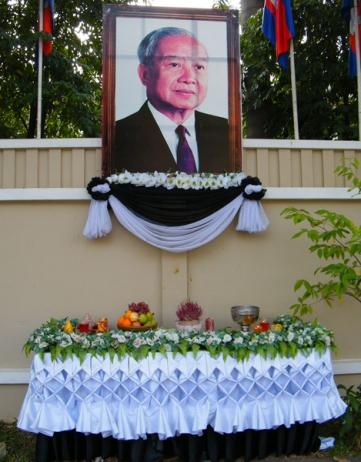 Sihanouk, de koning-vader