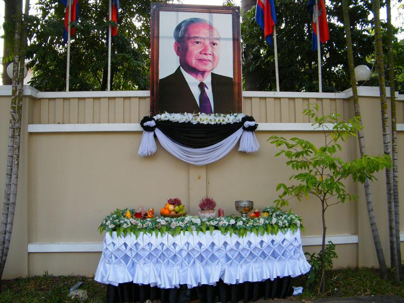 Sihanouk - Cambodja