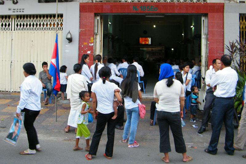 Uitvaart Sihanouk - Phnom Penh