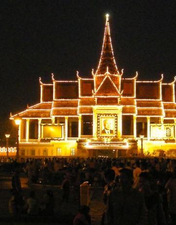 Uitvaart Sihanouk: nog één dag