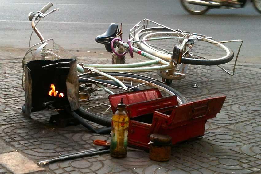 fiets Phnom Penh