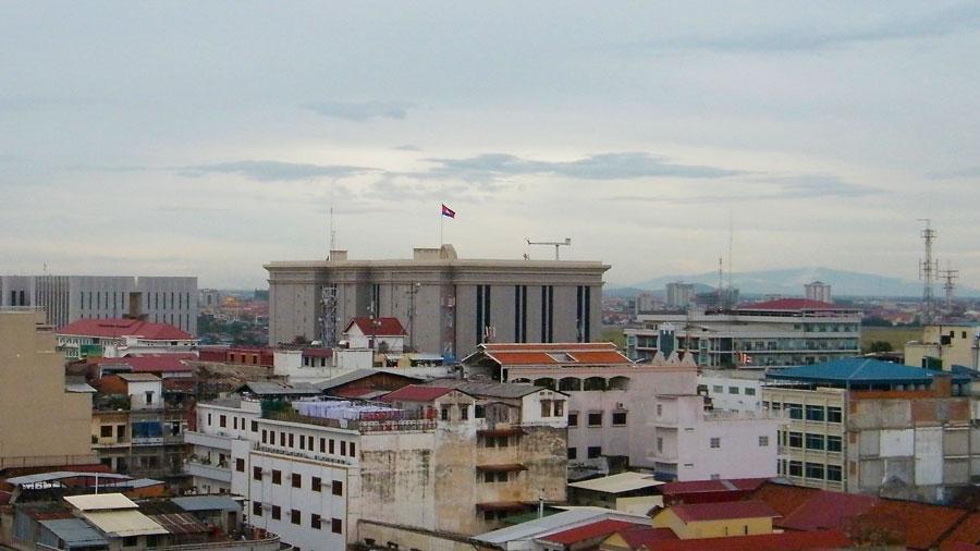 Verkiezingen Cambodja - kantoor Hun Sen