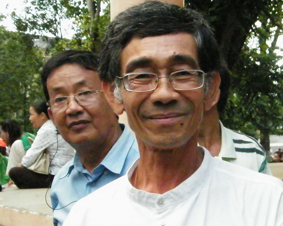 Verkiezingen Cambodja - Prins Tomico
