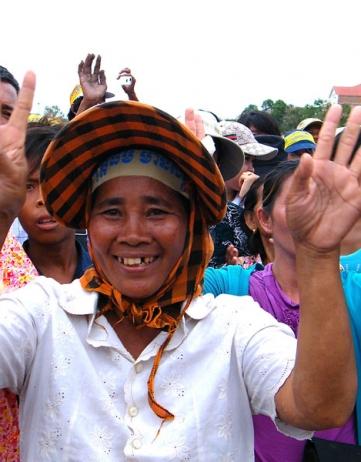 Verkiezingen Cambodja – Protestdag 3