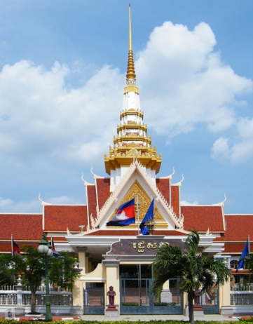 Verkiezingen Cambodja & Elite Town
