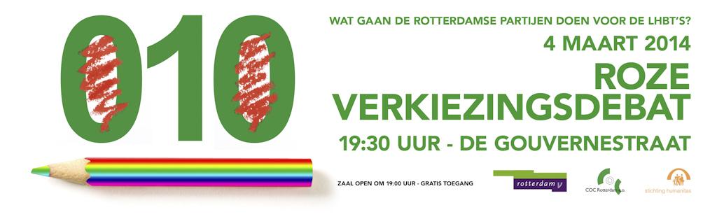 Roze Debat Rotterdam