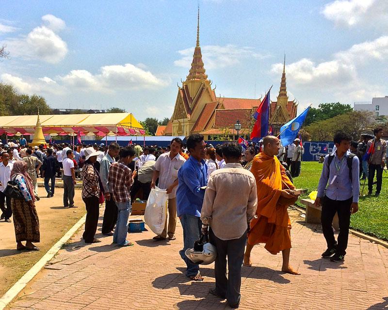Verkiezingen Cambodja - CNRP