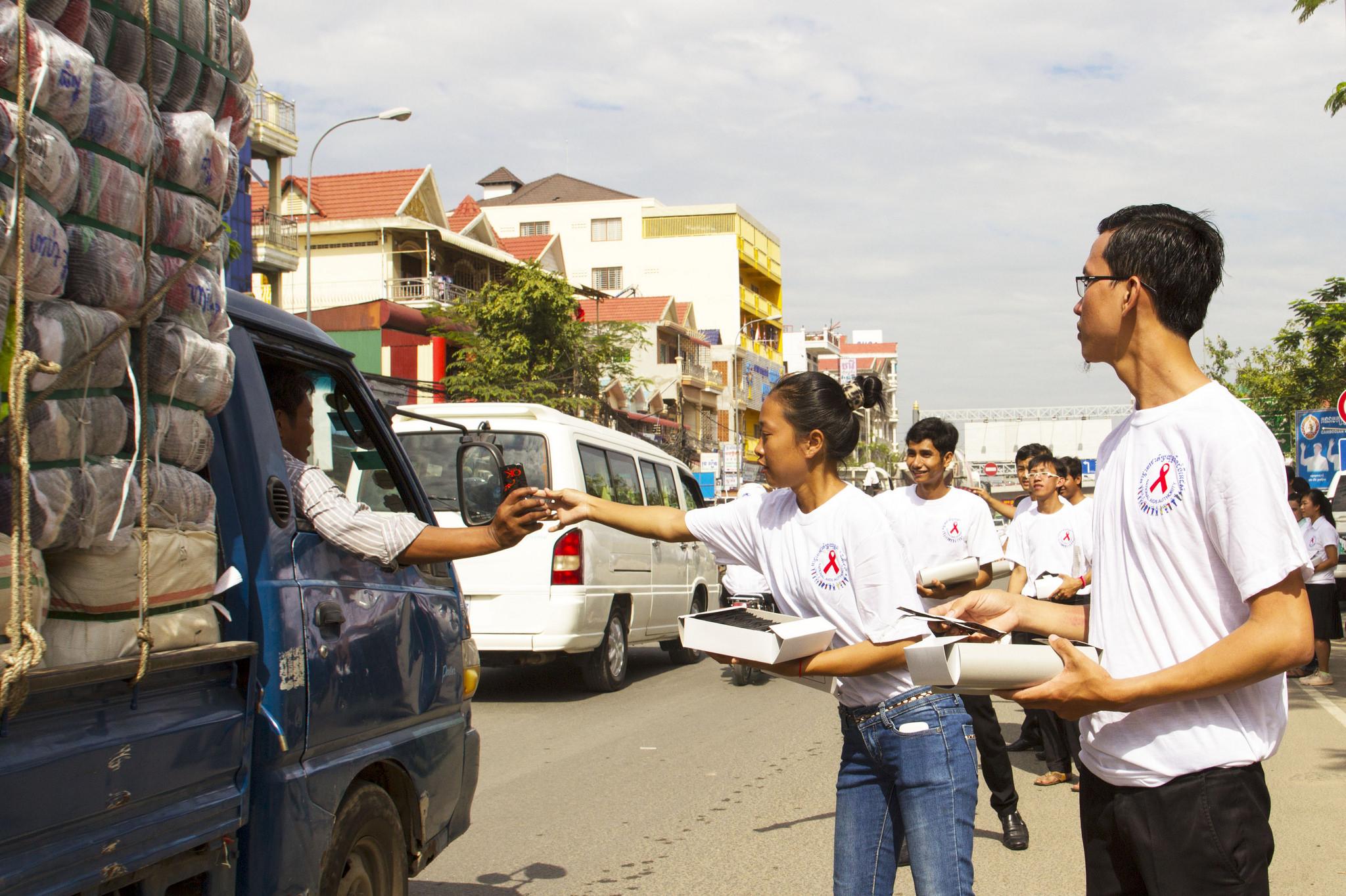 Wereld Aids Dag Phnom Penh