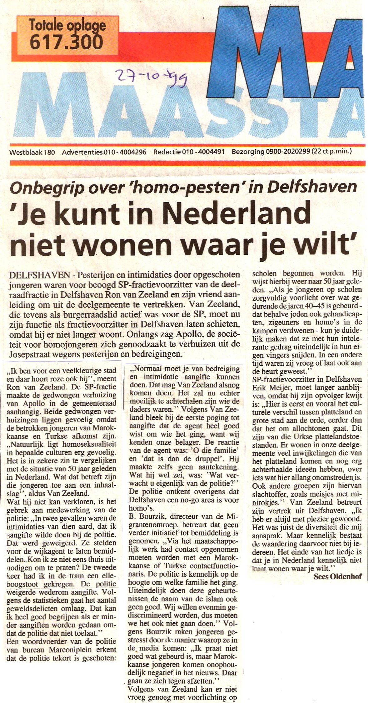 19991027_maasstad_je_kunt_in_nld_niet_wonen_waar_je_wilt