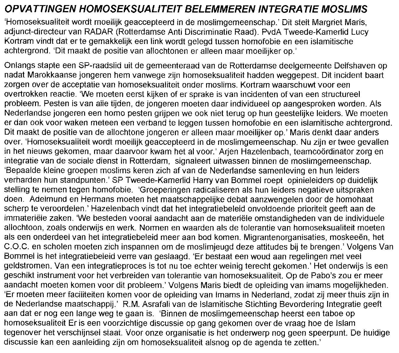 Ron van Zeeland lhbt Delfshaven