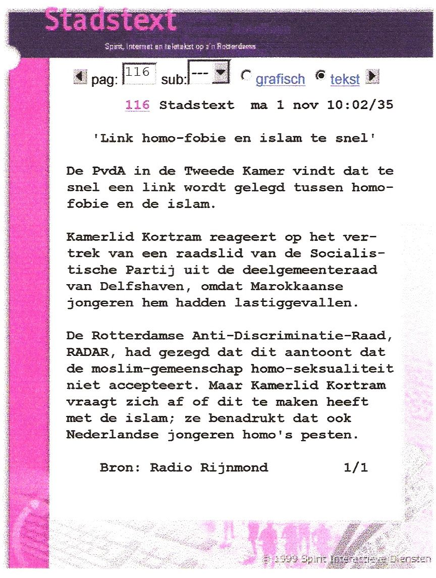 19991101_tv_rijnmond_stadstext_-link_homofobie_islam_te_snel