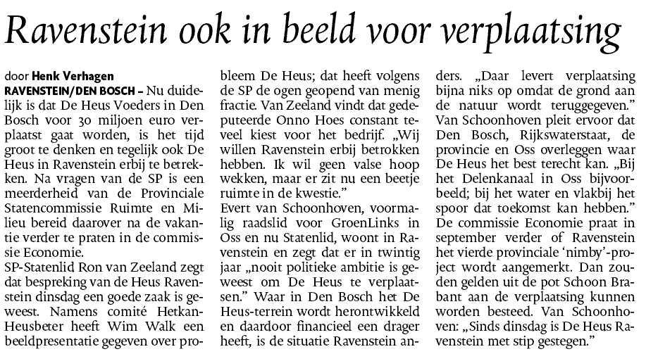 De Heus =- Brabant - Ron van Zeeland