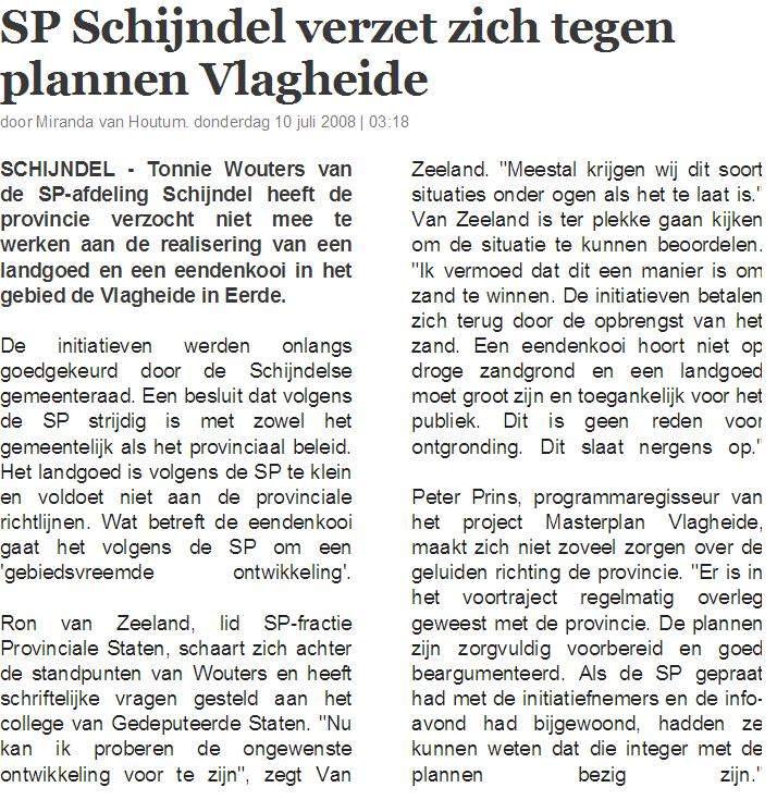 Vlagheide - Brabant - vuilstort - Ron van Zeeland
