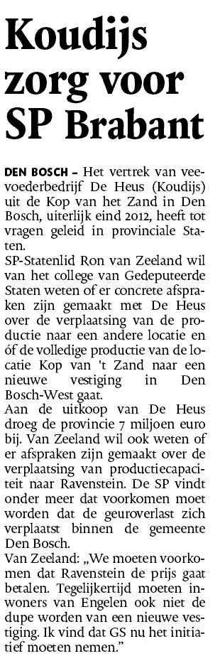 De Heus - Den Bosch - Brabant - Ron van Zeeland