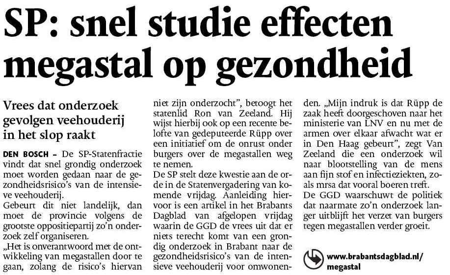megastallen - Ron van Zeeland