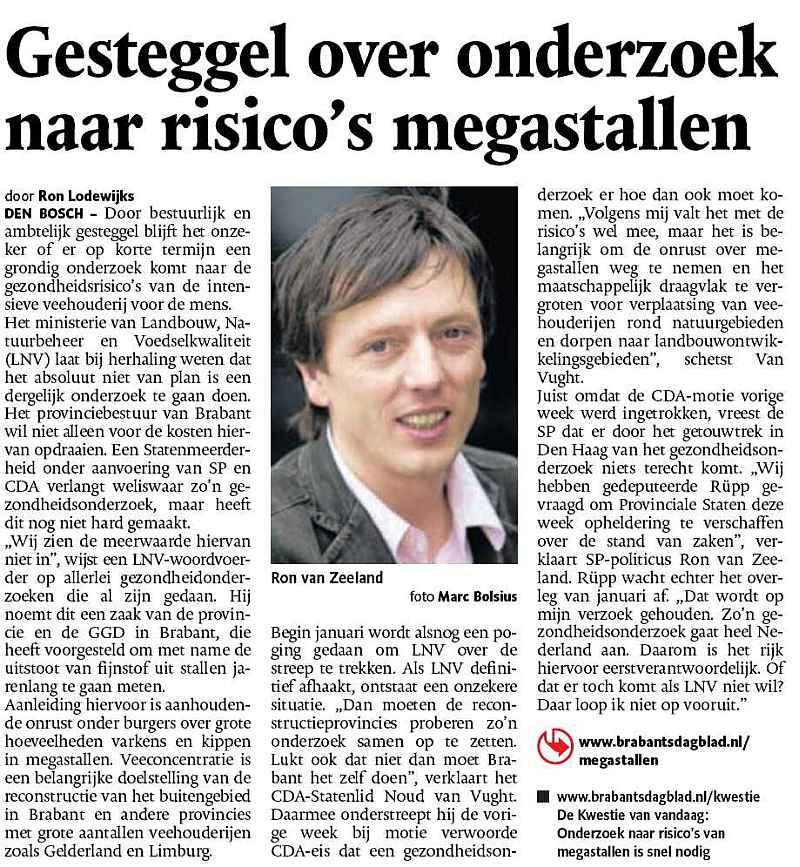 Ron van Zeeland - reconstructie - Brabant - Maruskja Lestrade