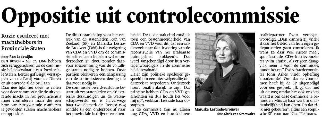 Brabant - Marusjka Lestrade - Ron van Zeeland
