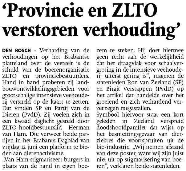Brabant - ZLTO - Ron van Zeeland