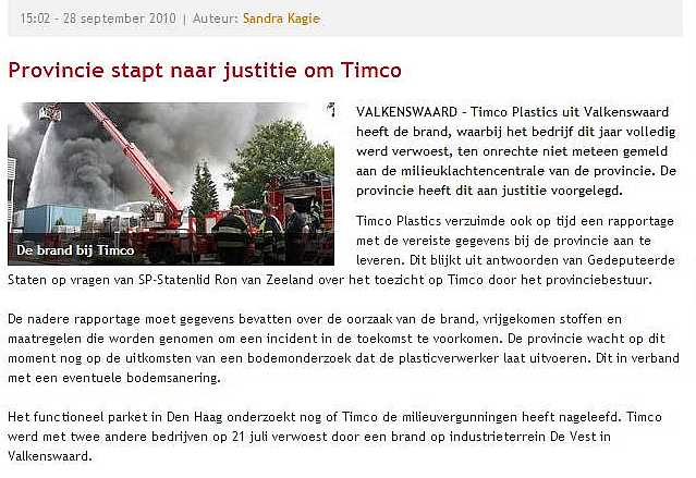 Timco Plastics - Brabant