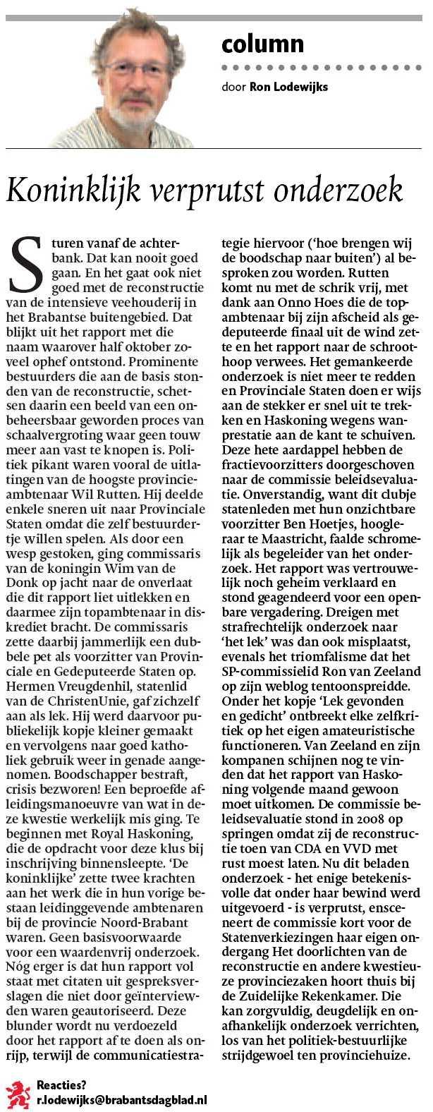 politiek - Brabant