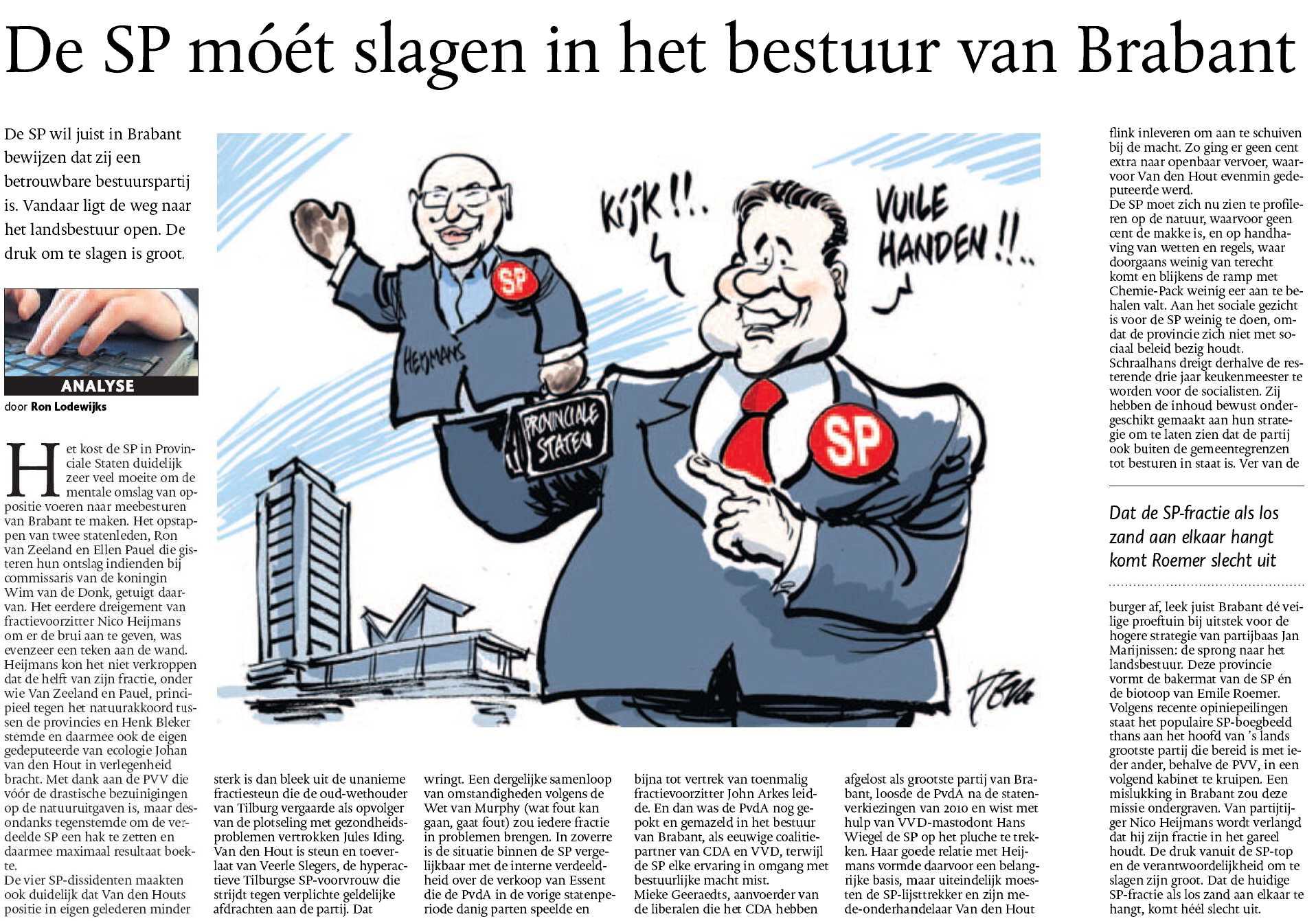 Ellen Pauel - Ron van Zeeland - SP - Brabant