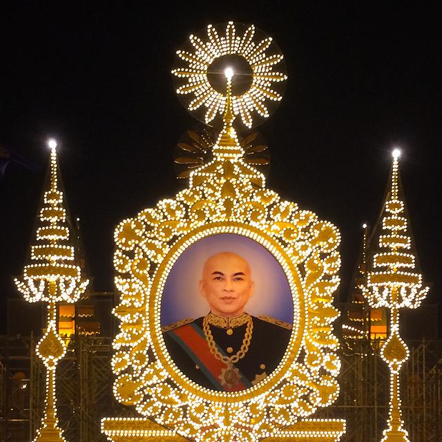 Verkiezingen Cambodja - Sihamoni