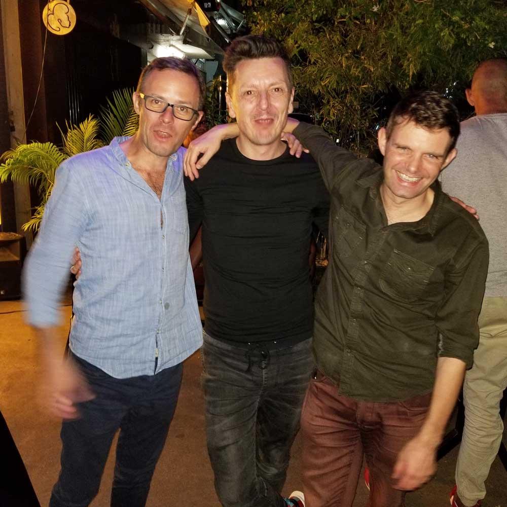 Kris Janssens en Pascal Laureyn
