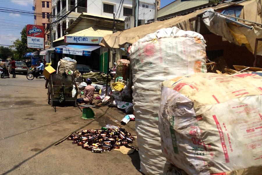 afval Cambodja