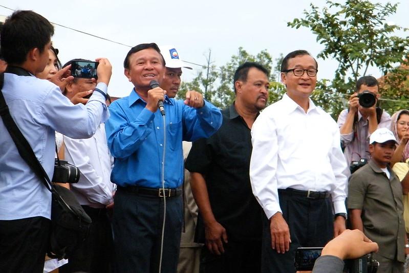 Kem Sokha - Sam Rainsy - Cambodja