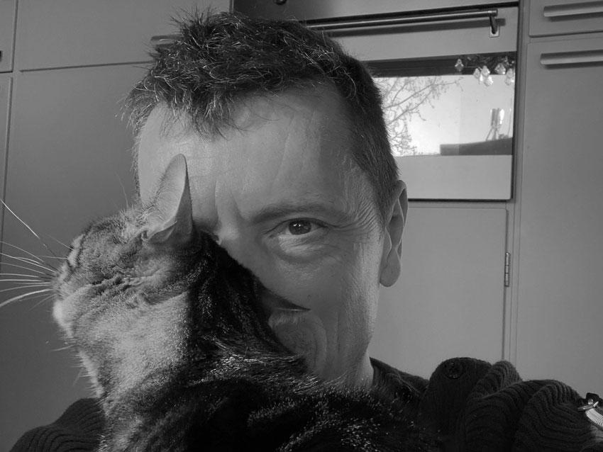 poes Lola cat - Ron van Zeeland