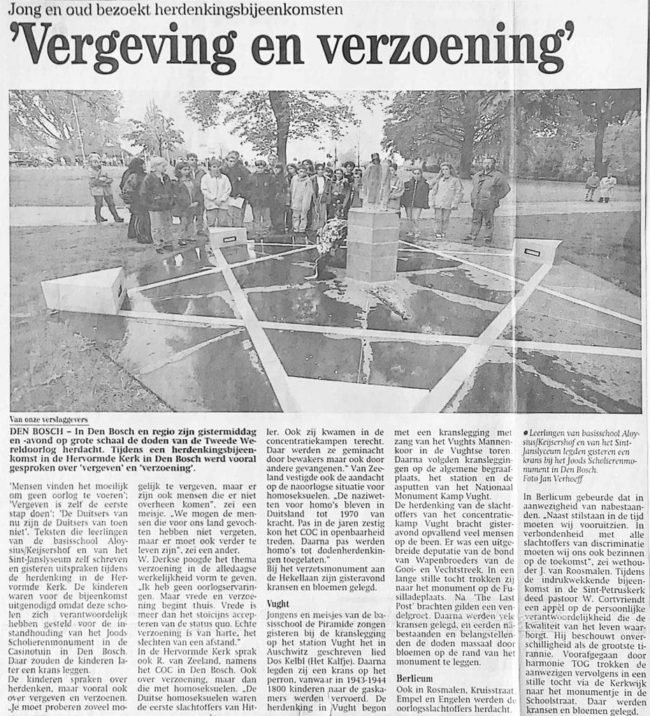 Dodenherdenking 1997