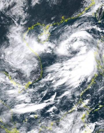 Donkere wolken boven Cambodja