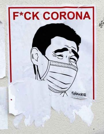 Corona: prikken in een dictatuur