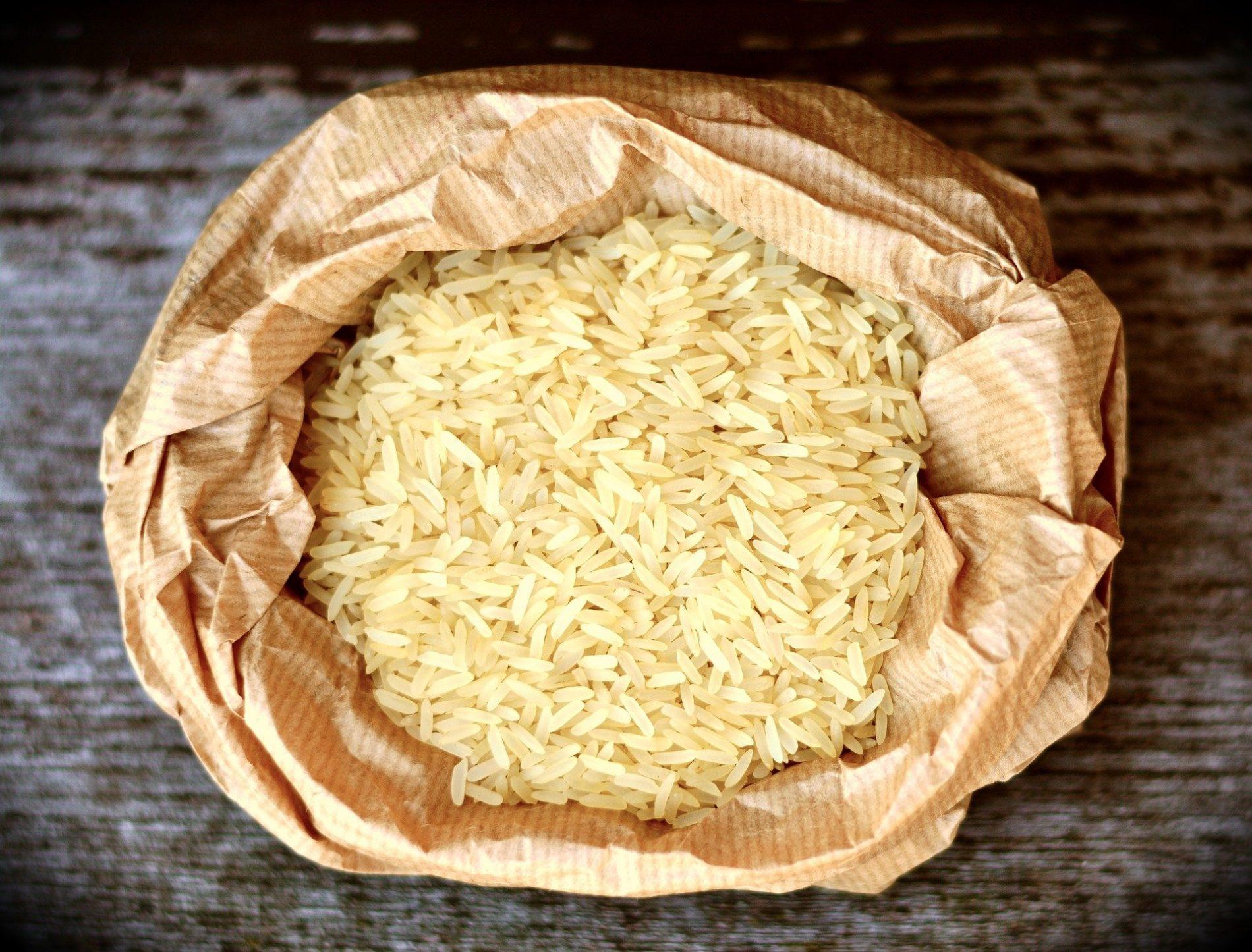 voedselhulp rijst