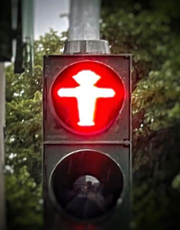 On-Berlijns bits: 'Halt!'